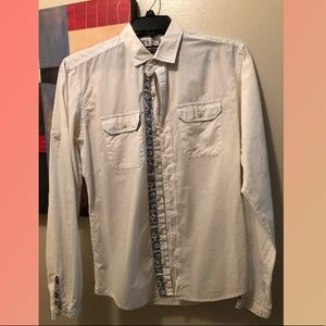 Zara Youth button down shirt medium